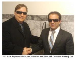 Robert and Cyrus Habib State Rep
